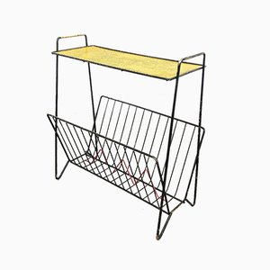 Vintage Magazine Rack by Mathieu Mategot