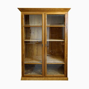 Large Antique Shop Display Cabinet, 1910s