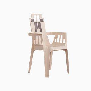 Stühle aus Kunststoff von Pierre Paulin für Henry Massonnet, 1988, 4er Set