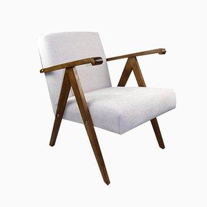 Vintage Beige Structural Armchair, 1970s