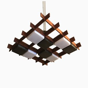 Mid-Century Italian Ceiling Lamp by Angelo Brotto for Esperia, 1960s
