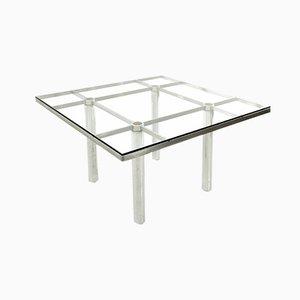 Square Model Andrè Dining Table by Tobia & Afra Scarpa for Gavina, 1960s