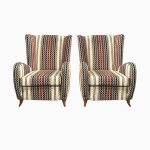 Italienische Vintage Sessel von Paolo Buffa, 1950er, 2er Set