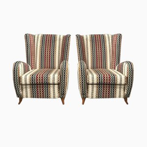 Vintage Italian Armchairs by Paolo Buffa, 1950s, Set of 2