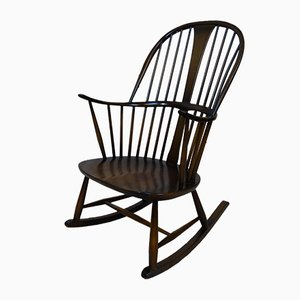 Mid-Century Rocking Chair by Lucian Ercolani for Ercol, 1970s