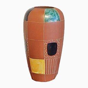 Nr. 2001/30 Kuba Vase by Bodo Mans for Marei Keramik, 1950s