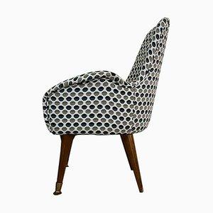 Vintage Sessel mit Holzgestell, 1970er, 2er Set