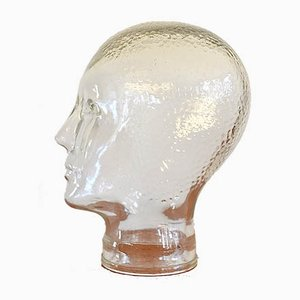 Vintage Italian Glass Head, 1960s