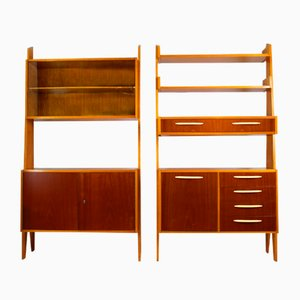 Vintage Wall Units, 1960s, Set of 2