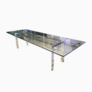 Silver Doge Dining Table by Carlo Scarpa for Simon International, 2006