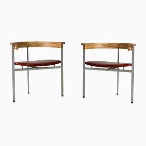 Model PK 11 Armchairs by Poul Kjærholm for E. Kold Christensen, 1960s, Set of 2