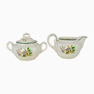 Sauce Boat and Sugar Boat Set from Villeroy & Boch, 1950s