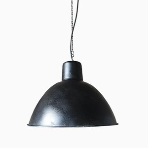 Vintage Industrial German Model EHS2/C Loft Pendant Lamp, 1950s
