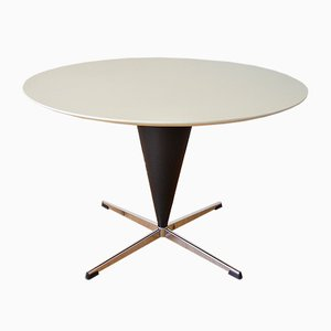 German Cone Dining Table by Verner Panton for Gebr. Nehl Germany, 1950s