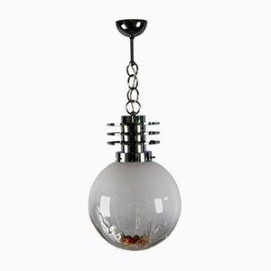 Italian Murano Glass Ceiling Lamp from Mazegga, 1970s