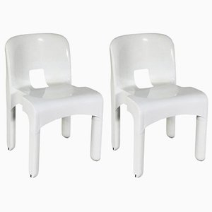 Universale Chairs by Joe Colombo for Kartell, 1967, Set of 2