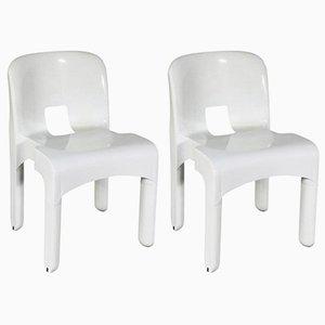 Universale Stuhle von Joe Colombo für Kartell, 1967, 2er Set