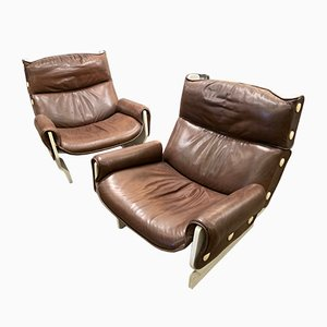 Canada Lounge Chairs by Osvaldo Borsani, 1960s, Set of 2