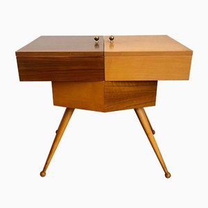 Wooden Sewing Box from Ilse Furniture, 1950s