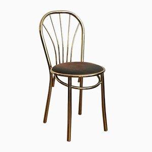 Art Decoration Chair in Brass, 1990s