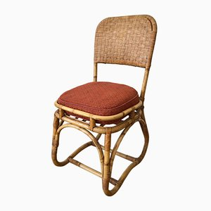 Rattan, Bamboo & Wicker Chair, 1950s