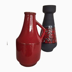 Ceramic Vases 119/25 by Duemler & Breiden, 1970s, Set of 2