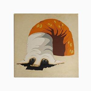 Cane da Tabacco Serigraph by Armando Testa, 1970s
