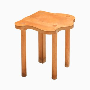 Wooden Stool from E.R.A. Herbst, 1990s