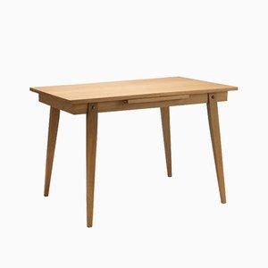 Oak Veneer Folding Dining Table, 1960s
