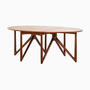 Danish Dining Table by Niels Koefoed, 1960s