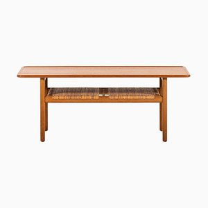 Danish Model AT-10 Coffee Table by Hans J. Wegner for Andreas Tuck, 1950s