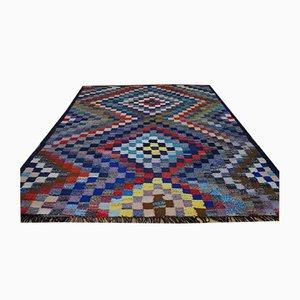 Vintage Kurd Nomadic Kilim Carpet, 1950s