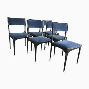 Esszimmerstühle von Giuseppe Gibelli für Luigi Sormani, 1960er, 6er Set