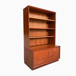 German Teak Cabinet with Bookcase from Strobeck, 1960s