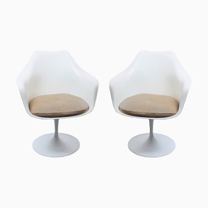 Chaises Pivotantes Tulip par Eero Saarinen pour Knoll Inc. / Knoll International, 1960s, Set de 2
