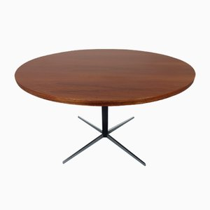 German Extendable Rosewood Dining Table by J.M. Thomas for Wilhelm Renz, 1950s