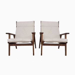 Vintage Model 1611 Lounge Chairs by Rob Parry for Gelderland, 1952, Set of 2