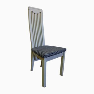 Dining Chairs in the Style of Mackintosh, 1980s, Set of 8