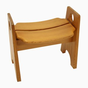 Scandinavian Wooden Design Stool