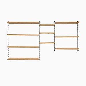Ladder Shelving Unit by Kajsa & Nils ''Nisse'' Strinning for String, 1960s