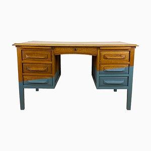 Vintage American Oak Desk, 1940s
