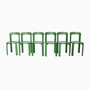 Esszimmerstühle von Bruno Rey für Dietiker, 1970er, 10er Set