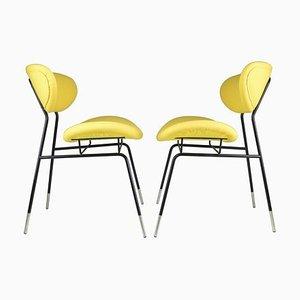 Mid-Century Stühle von Gastone Rinaldi für Rima, 1950er, 2er Set