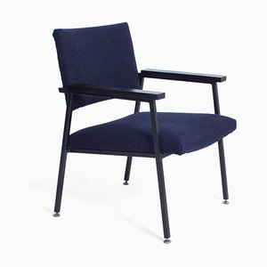 Dark Blue Z10 Chair from Gispen, 1960s