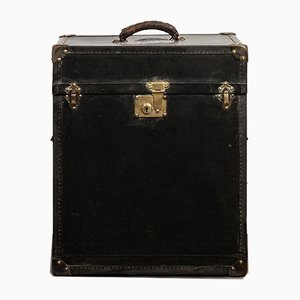 Antique Small Black Trunk