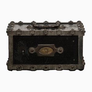 Antique French Iron Safe