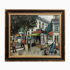 Parisian Street Painting