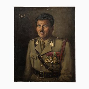 Retrato de hombre militar