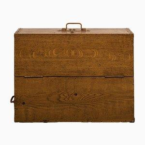 Antike Werkzeug- oder Aufbewahrungsbox