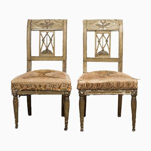 Louis XVI Chairs, Set of 2